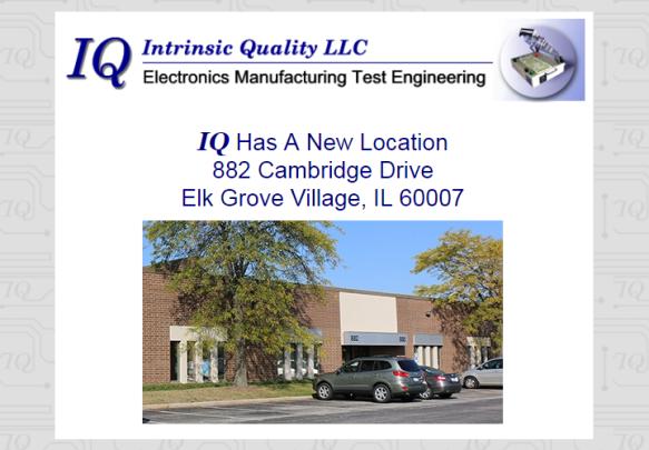Intrinsic Quality LLC | A Blog about Electronics